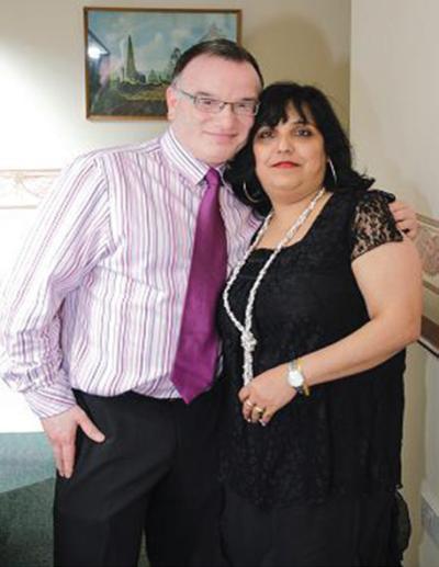 Parveen and Priyanka Goyal Owners of Cross Lane House